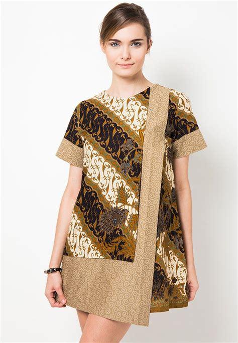 mini dress batik motif parang boket  danar hadi batik