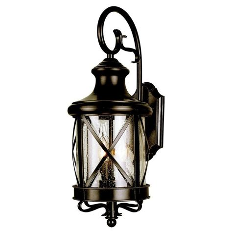 allen roth 20 1 2 in bronze outdoor wall mounted light