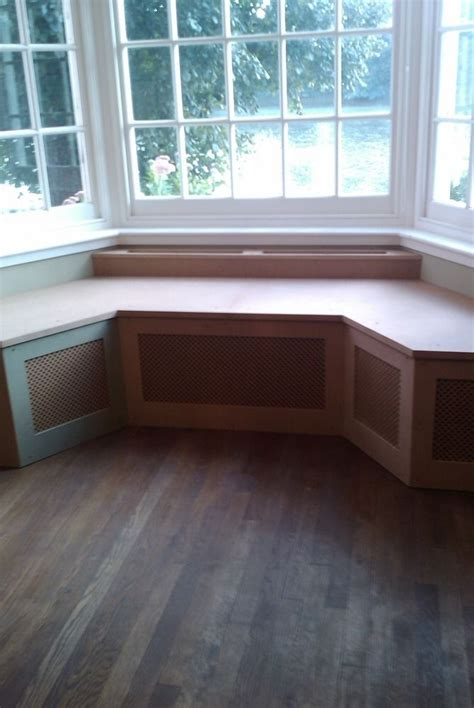 window bench seat building window seat around radiator woodworking