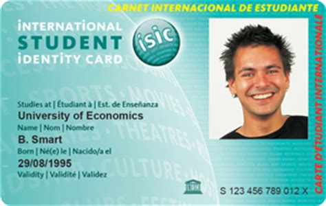 Isic Card Template by 187 About Us 187 Isic