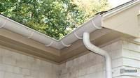 half round gutters Gutters - Copper, Aluminum, Zinc, Half-Round, K-Style, Box ...