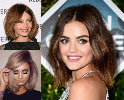 The Best Fit Bob Haircuts For Round Face Round face