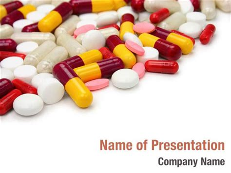 pills  tablets powerpoint templates pills  tablets