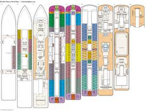 Princess Deck Plan Pdf by Pacific Princess Deck Plans Diagrams Pictures