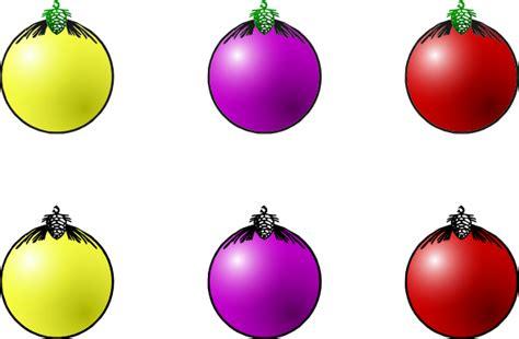christmas balls clip art  clkercom vector clip art