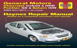 2008 Chevy Cobalt Owners Manual Pdf