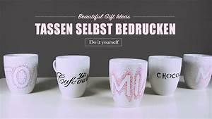 Tasse Selbst Bemalen : tassen bemalen tassen bedrucken toll als geschenkidee oder f r die k che youtube ~ Watch28wear.com Haus und Dekorationen