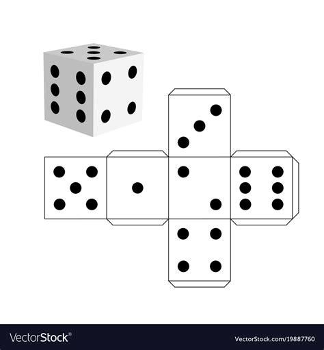 Dice Template Cube Template Word Idealstalist Paper Dice Template