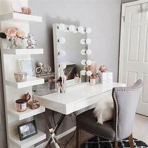 12, Most, Popular, Makeup, Vanity, Table, Ideas, For, Inspiration