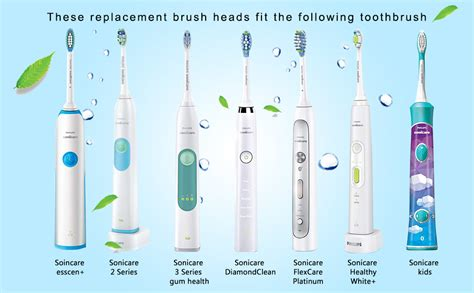 Amazon.com : Replacement Brush Heads for Sonicare Plaque