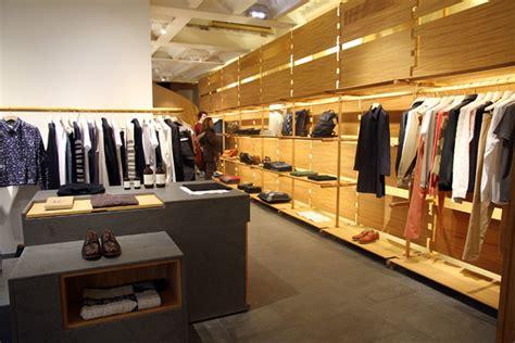 interieur winkel parijs a p c store by laurent deroo paris 187 retail design blog