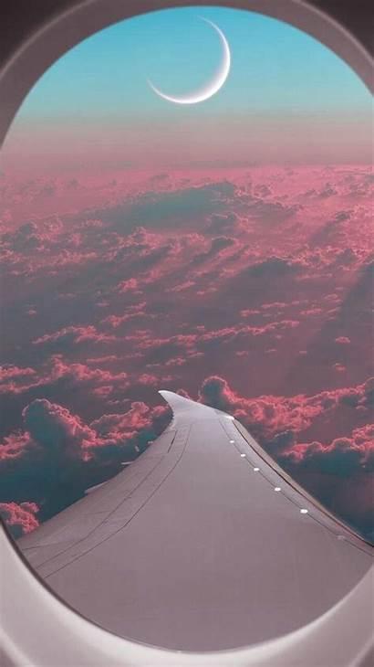 Iphone Plane Window Passenger Wallpapers Iphones Nature
