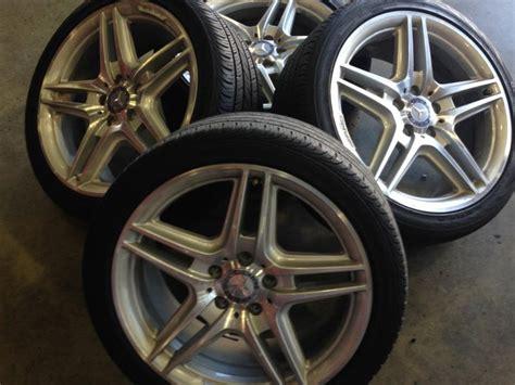 fs oem mercedes  amg wheels tires