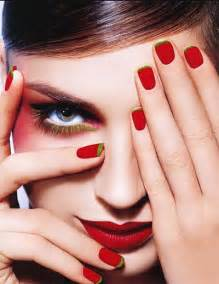Red nail art designs ideas for girls  fabulous