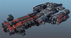 3d heavy frigate scifi | Spaceships | Spaceship concept ...