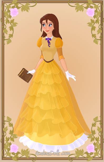 jane porter { yellow dress } on deviantart disney princesas