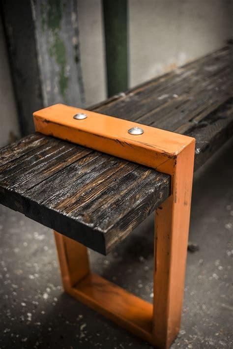 hand  industrial modern bench  anton  designs