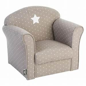 Fauteuil pour enfant taupe Gris Achat / Vente fauteuil