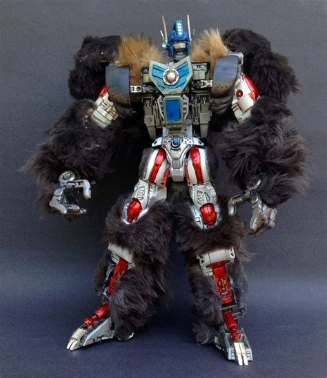 beast wars transformers optimus primal custom toys collection party third figures future action prime characters war visit machines display