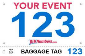 bib style options and samples bibnumberscom With running bib template