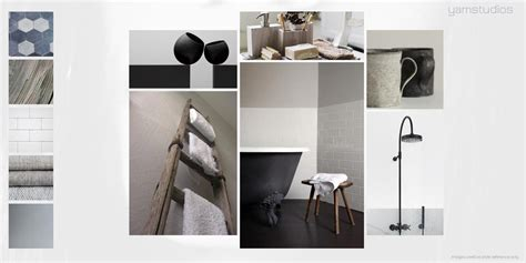 chevron bathroom ideas yam studios mood boards interior design