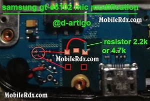 Samsung S6102 Mic Modification Solution Jumpering Ways