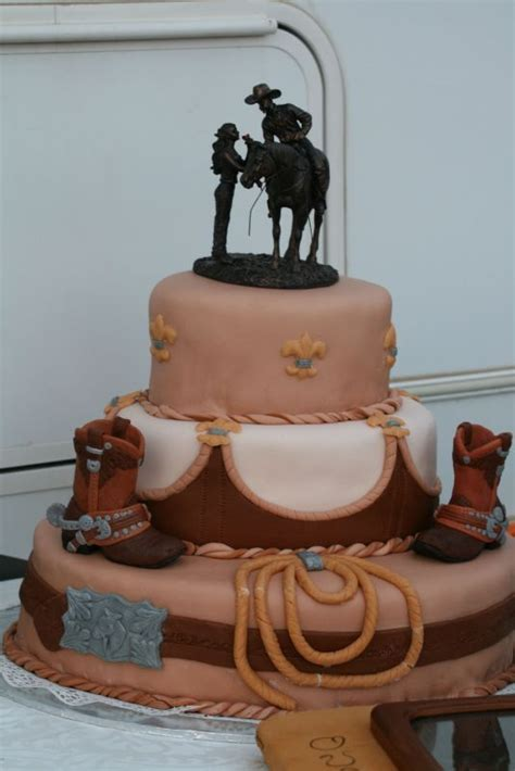 western wedding cakes pictures western style wedding cakes pictures western cowboy 1253