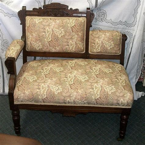 antique settee bench eastlake settee gossip bench settees and