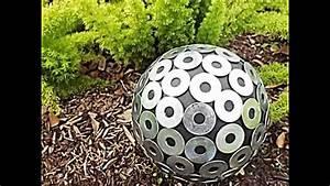 Garten Deko Ideen Selbermachen : 20 sommerliche garten deko ideen mit bowlingkuggeln zum selbermachen youtube ~ Whattoseeinmadrid.com Haus und Dekorationen
