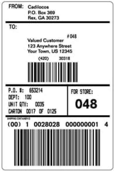 shipping label template top 4 layouts of shipping label templates word templates excel templates