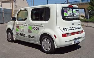 cut vinyl vehicle lettering visual horizons custom signs With vinyl van lettering