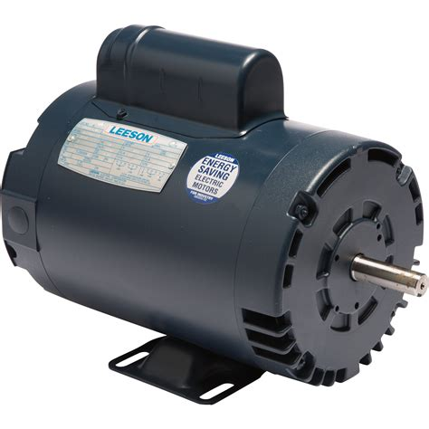 leeson reversible electric motor 2 hp 3450 rpm 230