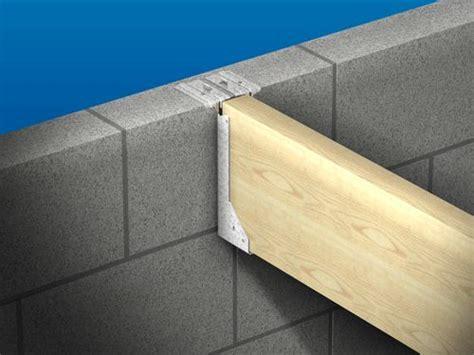 installing ceiling joist hangers masonry joist hanger type s 50mm x 225mm galv spmhs50225