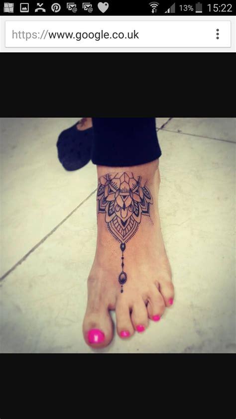 mandala tatouages pinterest tatouage tatouage pied