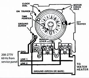 Mechanical Timer Switch Wiring Diagram