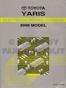 Toyota Yaris 2008 Electrical Diagram