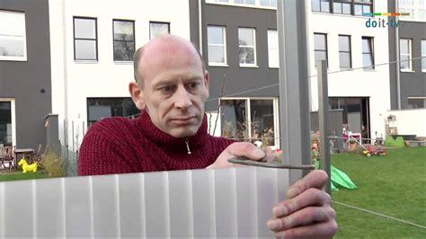 Klöntür Selber Bauen by Micha Hilft Sichtschutz Bauen Auf Doit Tv De Trailer