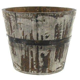 gray  wood planter shop hobby lobby add