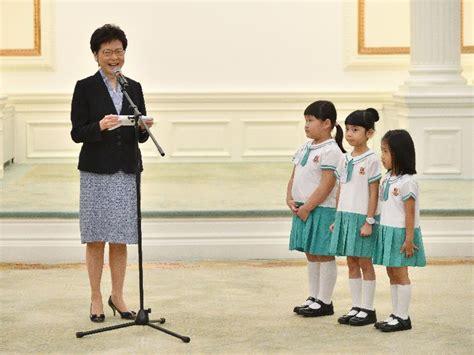professor peng liyuan  reply  students  hong kong