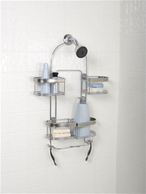 Zenith Shower Caddy Stainless Steel by Zenith Products E7546stbb Premium Expandable Shower Caddy