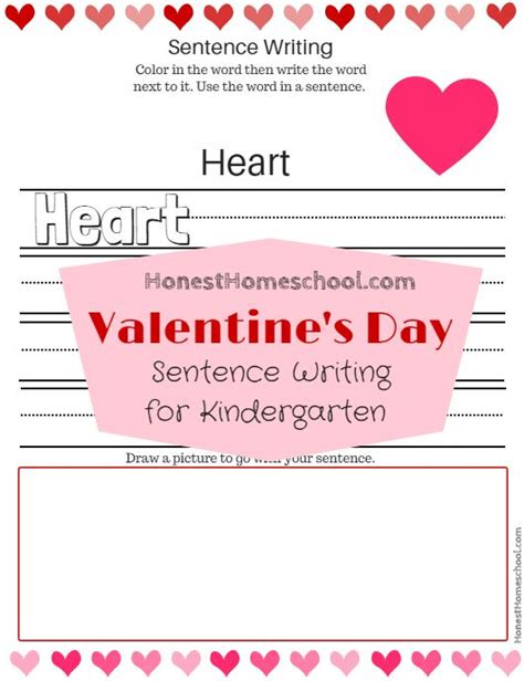 valentines day writing prompts printables