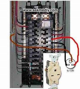 House Fuse Box Wiring Diagram 220 : how to install a 220 volt outlet home electrical wiring ~ A.2002-acura-tl-radio.info Haus und Dekorationen