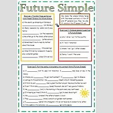 Future Simple Exercises