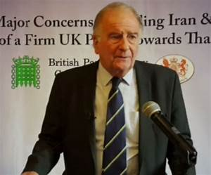 Sir Roger Gale MP: Freedom in Iran   North Thanet