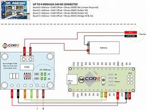 Wiring The I2c Ina219 Zero Drift  Bidirectional Current  Power Monitor With Mcu