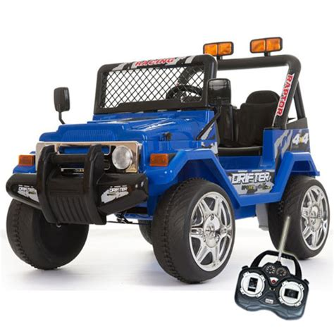 12v Blue Two Seater Off Road Kids Electric Jeep £16999
