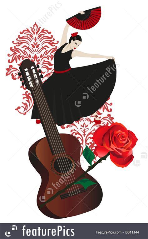 flamenco dance illustration