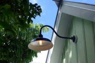 Gooseneck Barn Light Bring Historic Touch Conch Style Ideal Setting Hanging Front Porch Light Fixtures