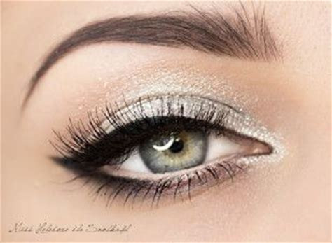 ideas  silver eyeshadow  pinterest