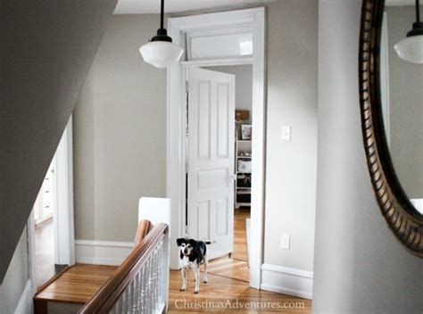 how to trim school house lighting hallway